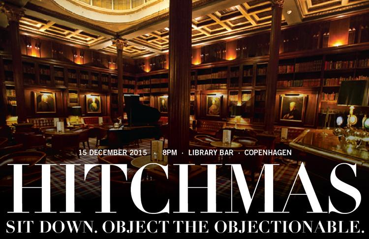 Hitchmas 2015 in Copenhagen Library Bar